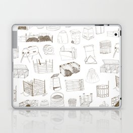 Cover, Contain, COMPOST- 1 of 3 Laptop & iPad Skin