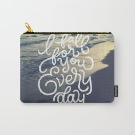 I fall for you everyday Carry-All Pouch