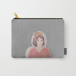 flower girl - floral Carry-All Pouch