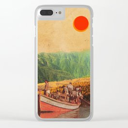 Eternal Noons Clear iPhone Case