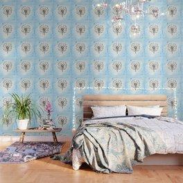 Dandelion Waiting for a Breeze Wallpaper