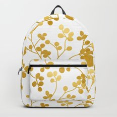 Golden Vines #society6 #decor #buyart Backpacks