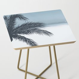 Palm and Ocean Side Table