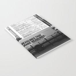 New York Post Truck, Manhattan Notebook