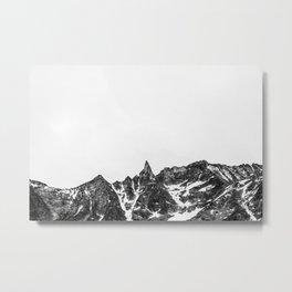Minimalist Mountain Metal Print