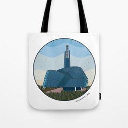 Explore Winnipeg Tote Bag