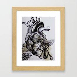 Industrial Pulse Framed Art Print