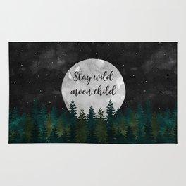 Stay Wild Moon Child Rug