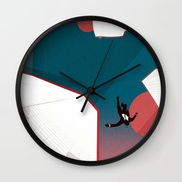 Mad Men Wall Clock