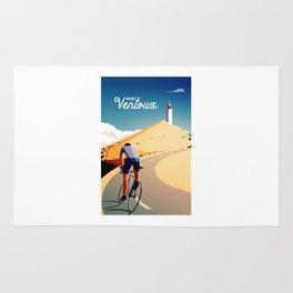 cycling mont ventoux tour de france Rug