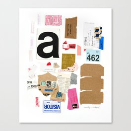 Paper Trail I  Canvas Print