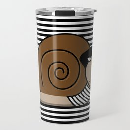 French Snail ~ Escargot Travel Mug