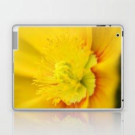 Iceland Poppy Close Perspective Laptop & iPad Skin