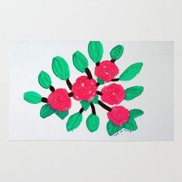 Roses IV Rug