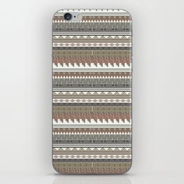 Tribal clay iPhone Skin