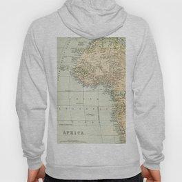 West  & North Africa Vintage Map Hoody