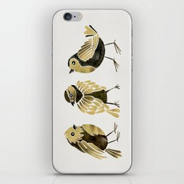 24-Karat Goldfinches iPhone Skin