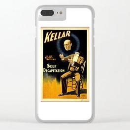 Kellar Self Decapitation Clear iPhone Case