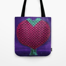 Tree Heart for Lovers Tote Bag