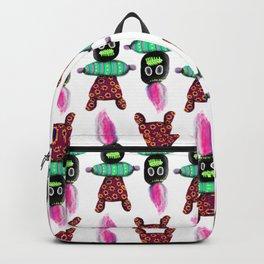 Voodoo Doll Pattern Backpack