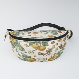 Apples Pears Peaches Fanny Pack