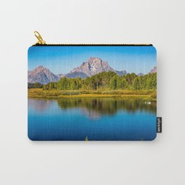 Oxbow Bend - Mt Moran in the Grand Tetons Carry-All Pouch