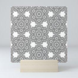Silver Lace Mini Art Print