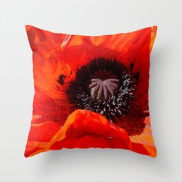 Georgia, Ode to, by Mandy Ramsey Throw Pillow