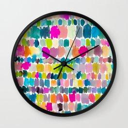 Paradise Painterly Wall Clock