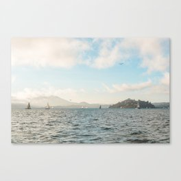 It's a bay kinda day Canvas Print