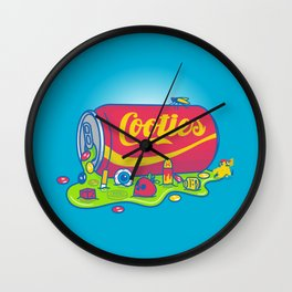 The World has Cooties Wall Clock
