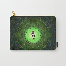 Green Tara Mantra- Protection from dangers and suffering Carry-All Pouch