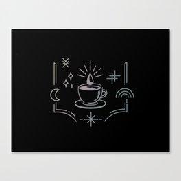 Mystic Coffee Canvas Print