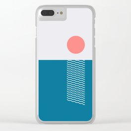 Sunlight No.1 Clear iPhone Case