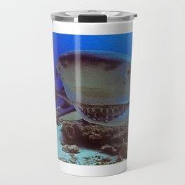 Snooty Shark Portrait Travel Mug