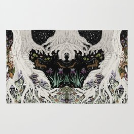 Starry Forest Rug
