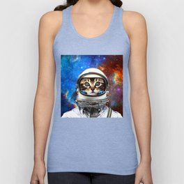 Astronaut Cat #2 Unisex Tank Top