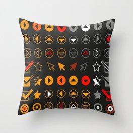 Symbology 1 Throw Pillow