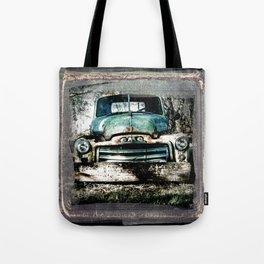 Truckn' Along - Green Tote Bag