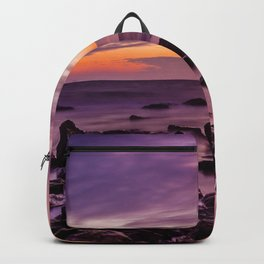 Waterscape with Sunset Backpack