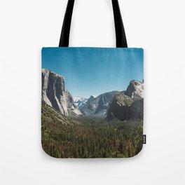 Tunnel View, Yosemite National Park V Tote Bag