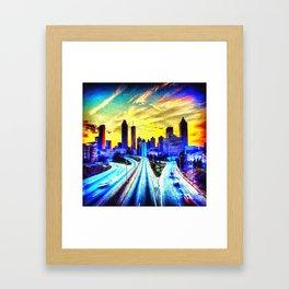 Good Morning Atlanta Framed Art Print