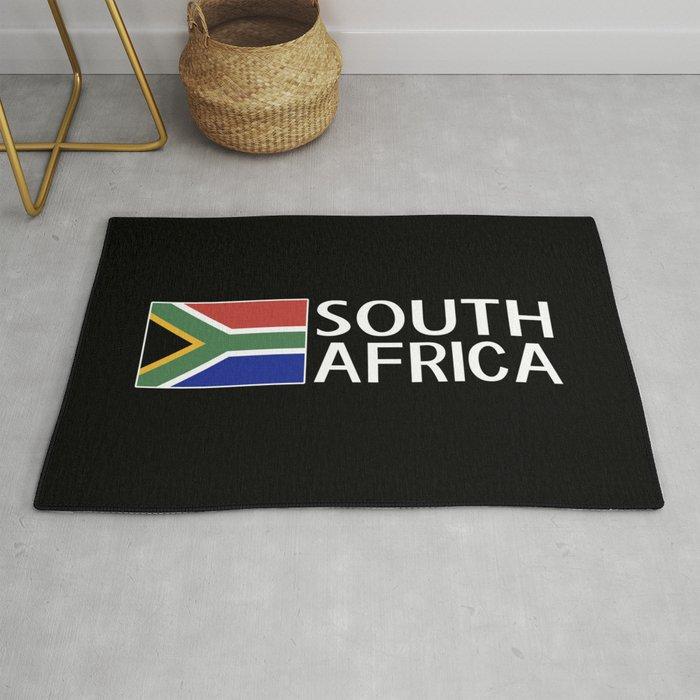 South Africa: South African Flag & South Africa Rug