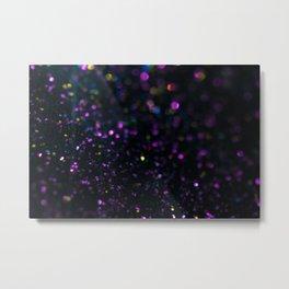 Abstract Purple Wallpaper Metal Print
