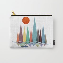 Mountains over the sea Carry-All Pouch