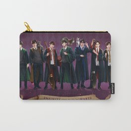 Infinite goes to Hogwarts Carry-All Pouch
