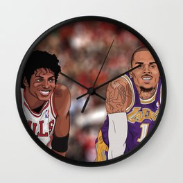 The Vet and The Rookie Wall Clock