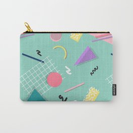Dreaming 80s Pattern #society6 #decor #buyart Carry-All Pouch