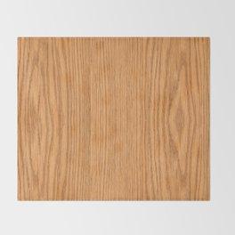 Wood 3 Throw Blanket