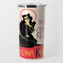 Black Cat Selina Travel Mug